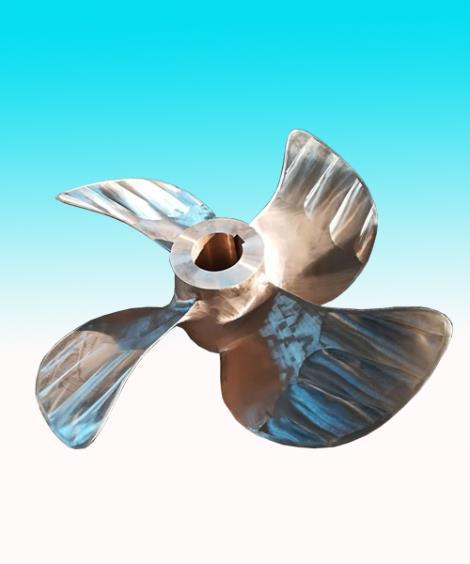 铜质螺旋桨加工
