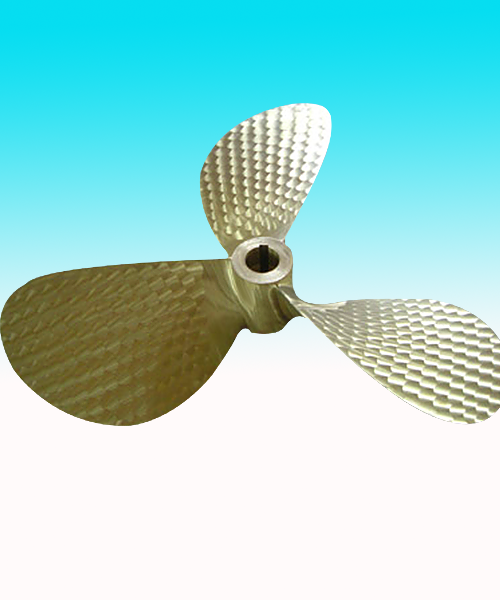 三叶螺旋桨加工