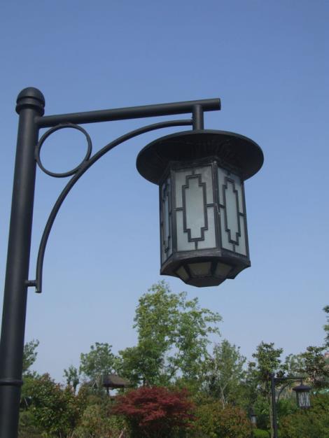 一体化庭院灯