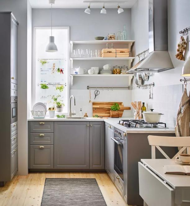 L型厨房装修设计