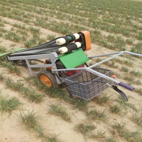 手推韭菜收割機 電動韭菜收獲機 汽油韭菜收獲機帶框