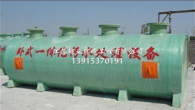 扬州地埋式一体化设备