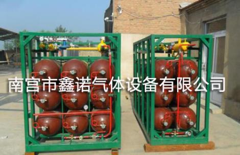 天然气集装格