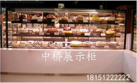 蛋糕展柜定制