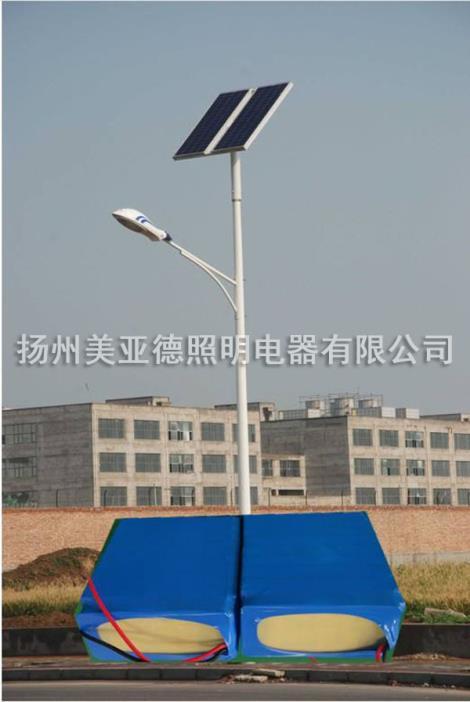 无锡太阳能锂电池路灯