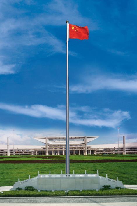 梅州不锈钢旗杆生产厂家_梅州定制工厂旗杆_全国批发质量好
