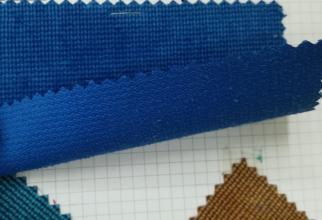 6WTC灯芯绒提花条子色织灯芯绒布料直销