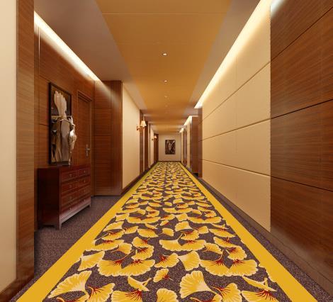尼龙印花满铺地毯