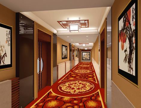 尼龙印花满铺地毯定制