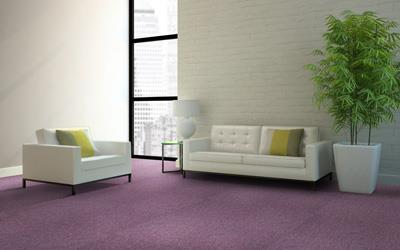 圈绒簇绒方块拼接地毯直销