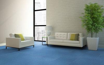 圈绒簇绒方块拼接地毯供货商
