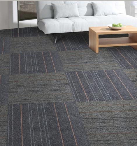 提花簇绒方块拼接地毯经销商