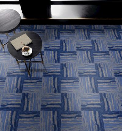幻彩印花方块拼接地毯定制