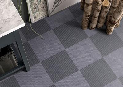 流年印花方块拼接地毯加工
