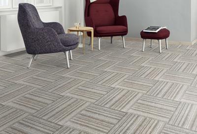 绽放印花方块拼接地毯经销商