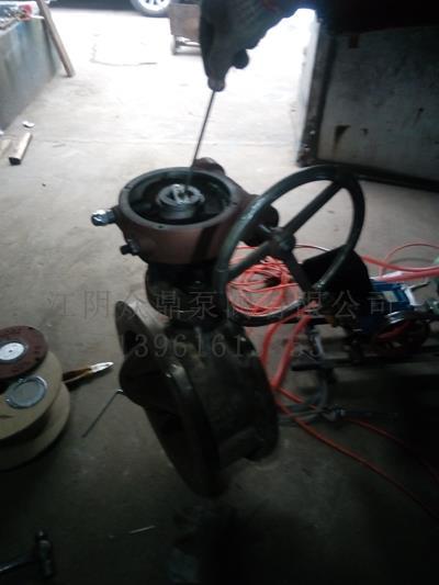 气动阀门维修