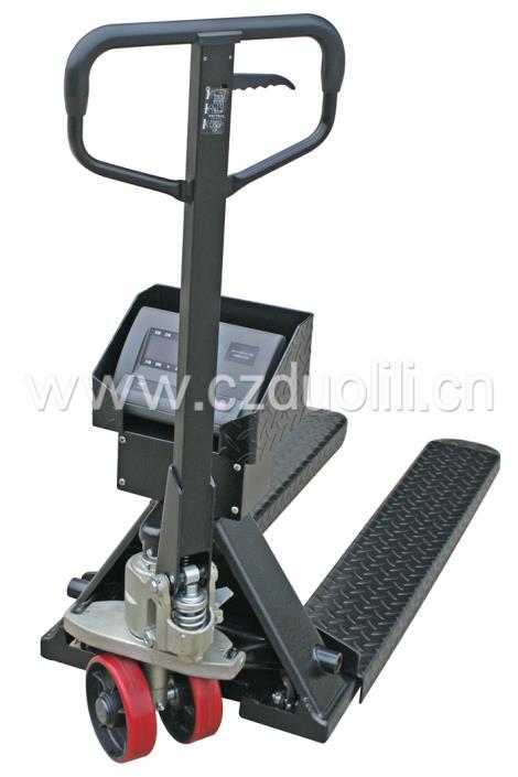 液压搬运车秤(碳钢)