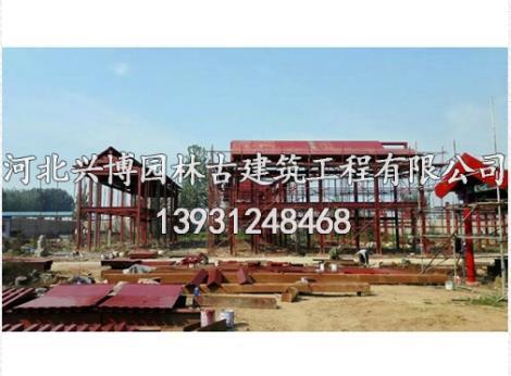 钢结构古建设计