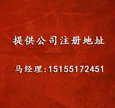 提供公司注册地址
