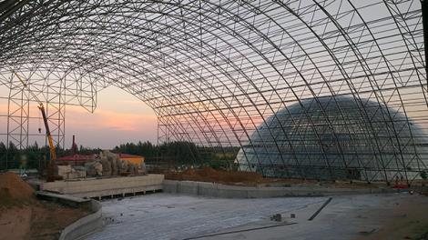 水上乐园钢膜结构