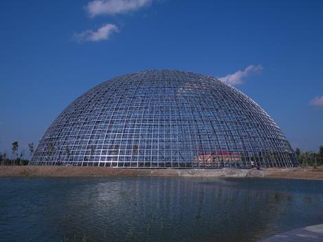 水上乐园钢膜结构遮阳篷