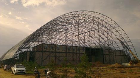游樂場景觀膜結構遮陽棚