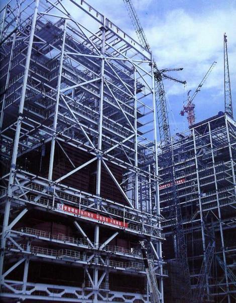 多层钢结构办公楼
