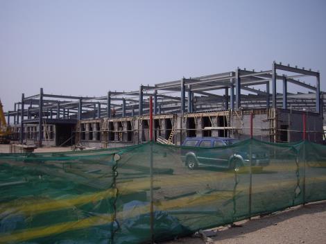 多层民用钢结构房屋