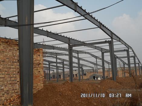 单层厂房钢结构