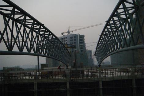 盐城宝龙广场钢结构