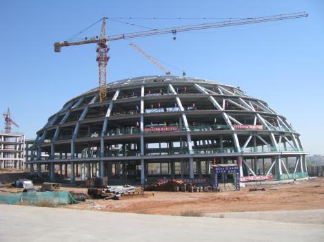 钢结构网架制安工程