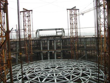 楼钢结构网架