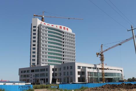 人民醫院幕墻工程