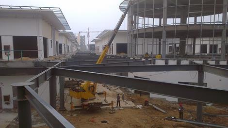 鋼結構連廊工程