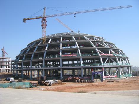 焊接球网架制安工程