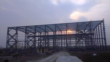 裝配綜合車間鋼結構工程