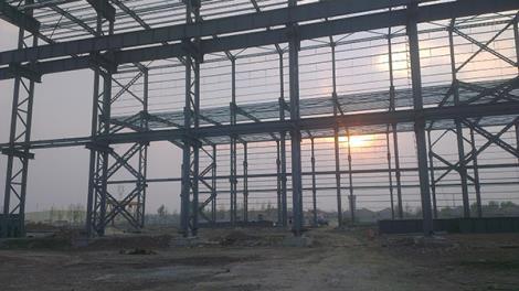 综合车间钢结构工程