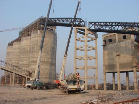 煤矿栈桥工程