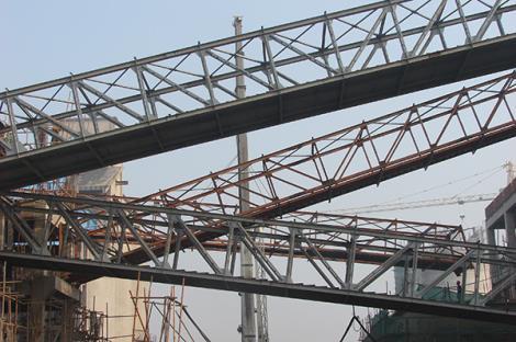 生产系统栈桥