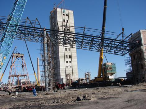 生产系统栈桥工程