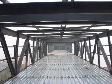 肖云煤矿栈桥