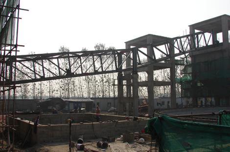 兖矿国际焦化运焦改造栈桥