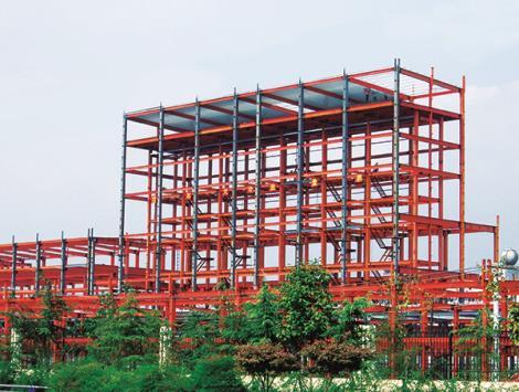 多層鋼構工程