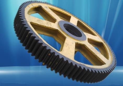 矿机齿轮加工