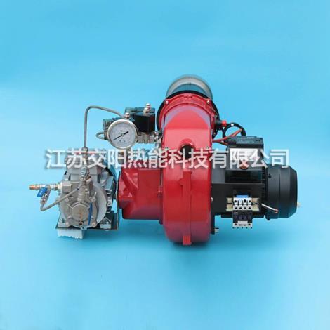 分体式低氮燃烧器安装