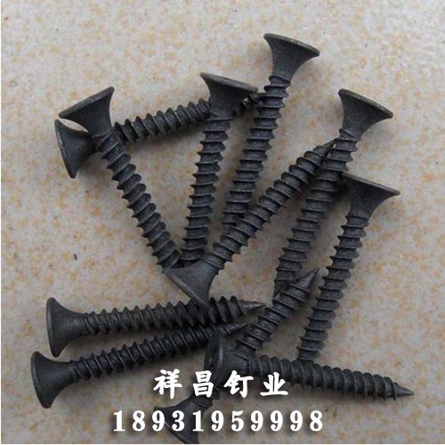 磷化干壁螺钉种类