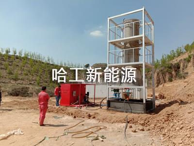 HH-1油氣田污水蒸發處理系統