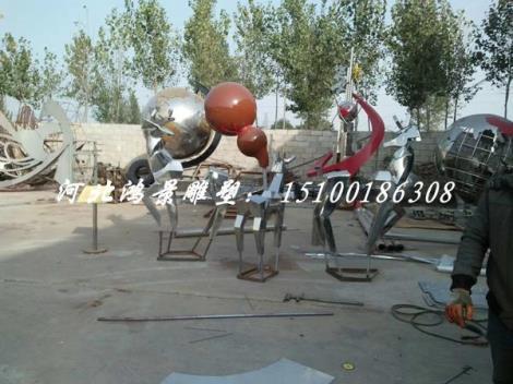 不銹鋼雕塑廠家 不銹鋼雕塑加工廠 大型雕塑公司