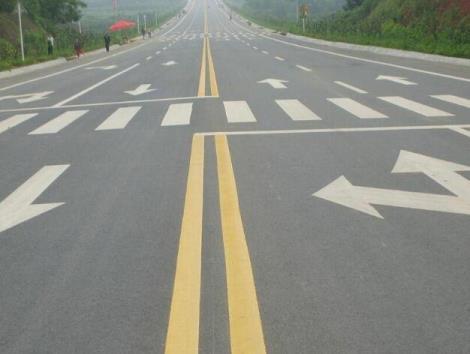 道路划线标识