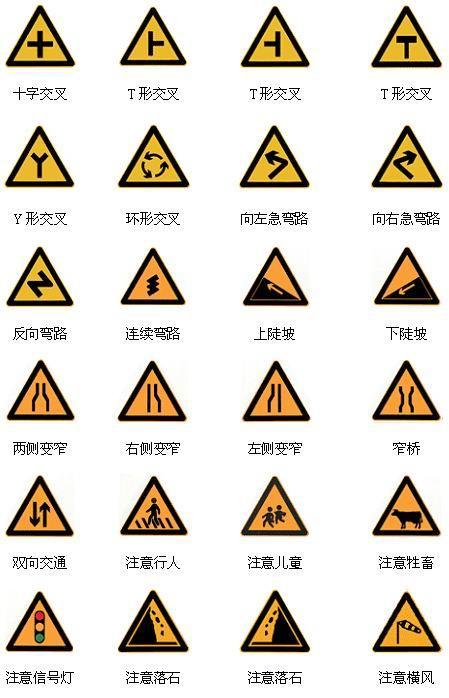 交通设施标牌